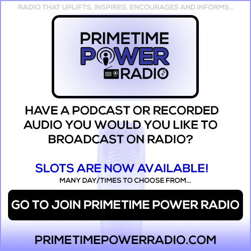 Primetime Power Radio - Slots Available!